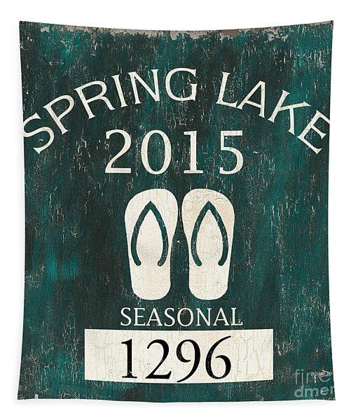 Beach Badge Spring Lake Tapestry