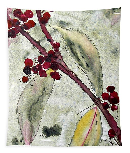 Beauty Berry Branch Tapestry