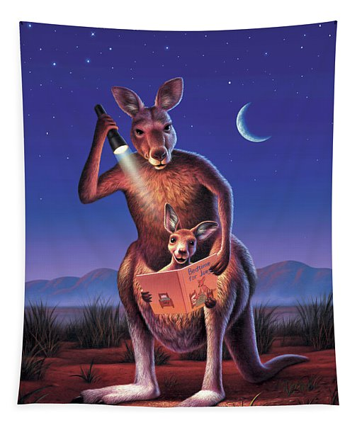 Bedtime For Joey Tapestry