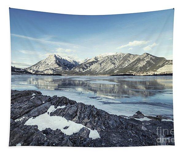 Beneath The Frozen Sky Tapestry