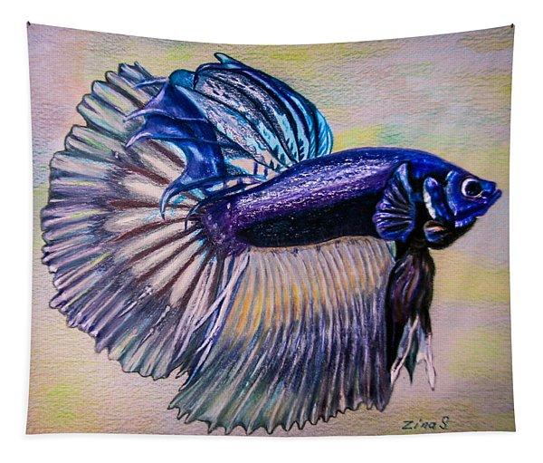 Betta Fish Tapestry