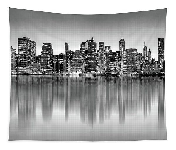 Big City Reflections Tapestry