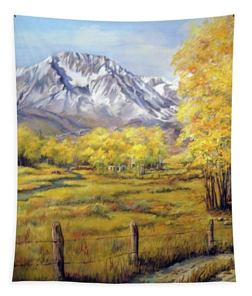 Bishop In The Fall Tapestry