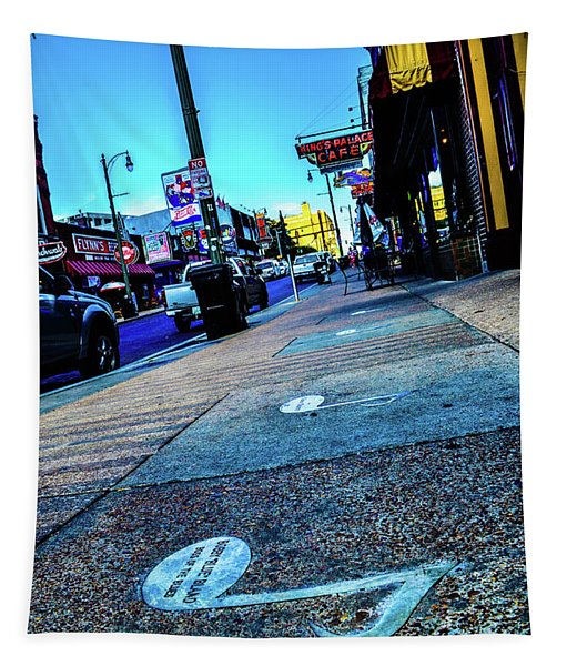 Blue Notes On Beale Tapestry