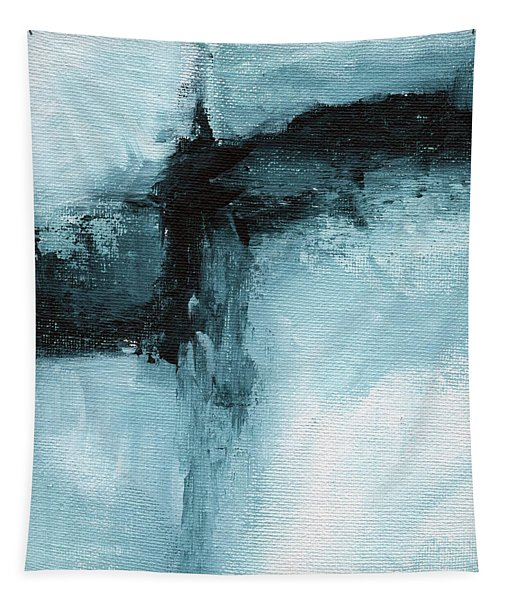 Blue Ridge- Abstract Art By Linda Woods Tapestry