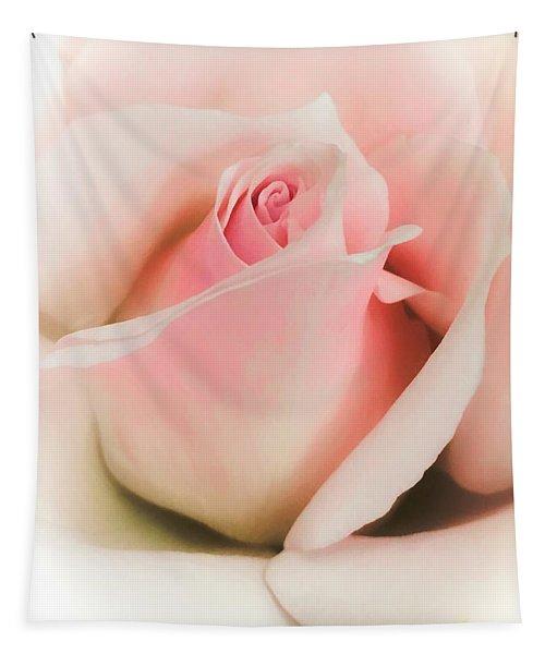 Blushing Petals Tapestry