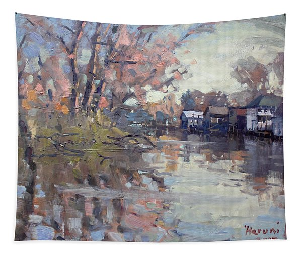 Boathouses At Eastern Park And Kayak Launch  Tapestry