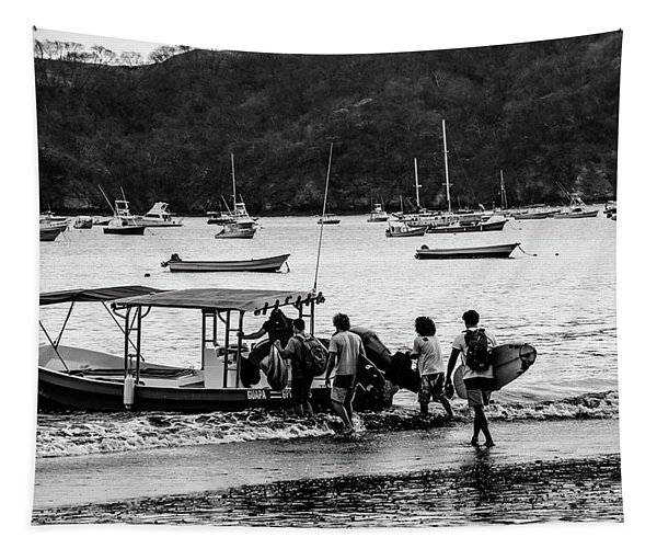 Boats And Boards  Tapestry
