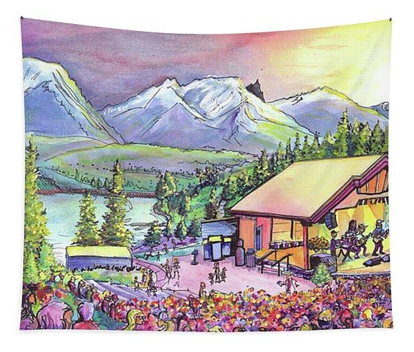 Bonfire Dub Tapestry
