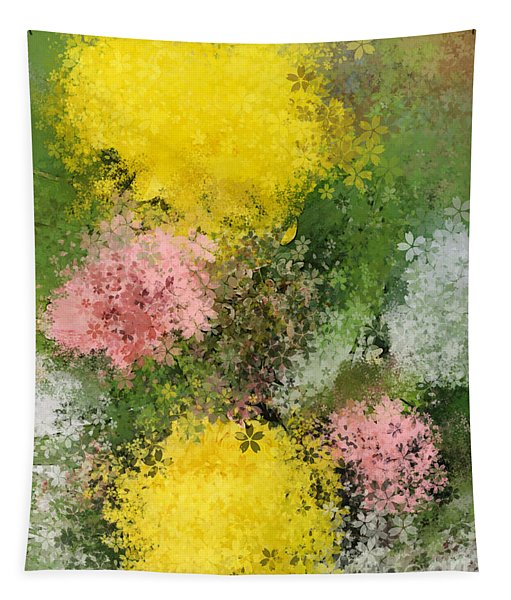 Bouquet Tapestry