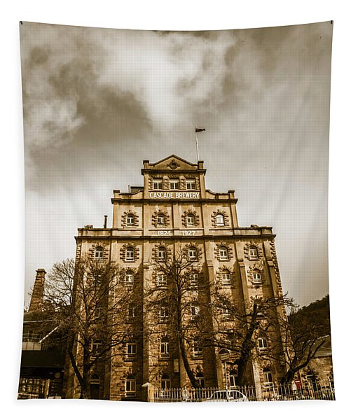 Brewery Building Tapestry