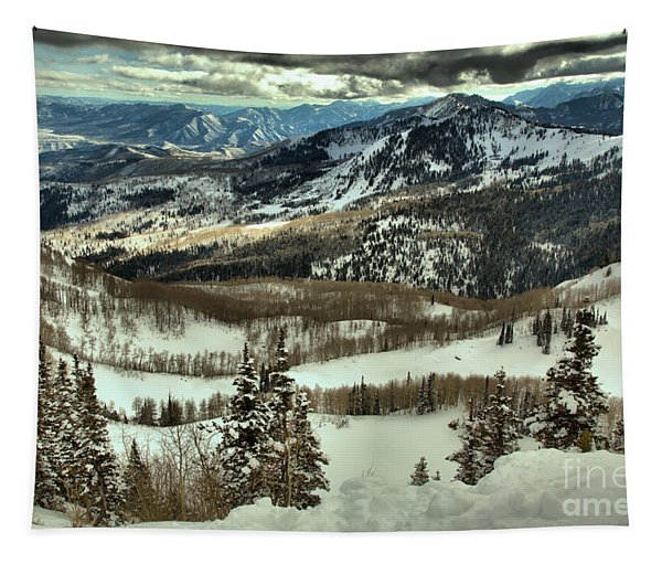 Brighton Mountain Landscape Tapestry