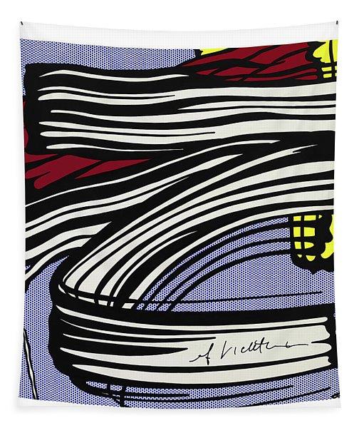 Brushstroke -1965 Tapestry