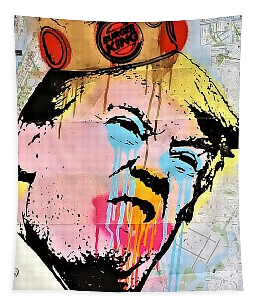 Burger King Trump Tapestry