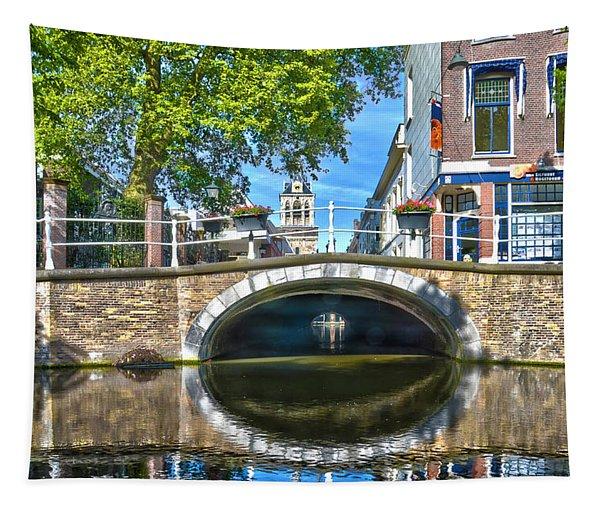 Butter Bridge Delft Tapestry