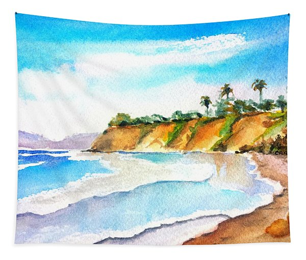 Butterfly Beach Santa Barbara Tapestry