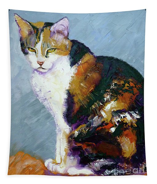 Calico Buddy Tapestry