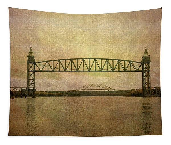 Cape Cod Canal And Bridges Tapestry