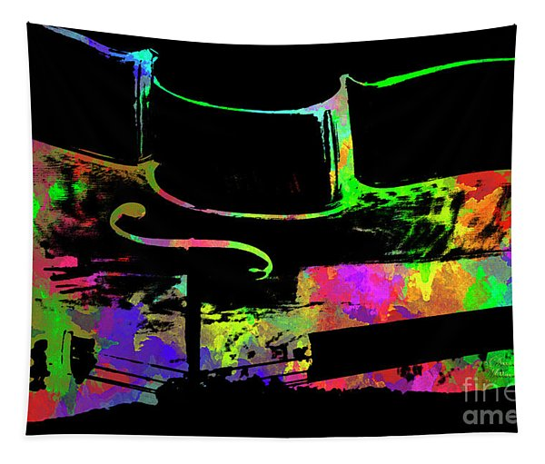 Cello Tapestry