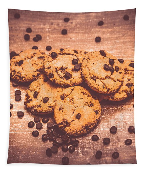 Choc Chip Biscuits Tapestry