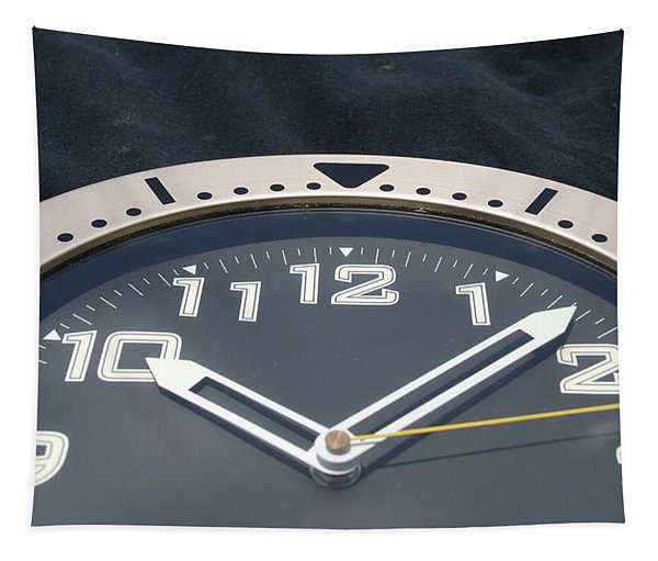 Clock Face Tapestry