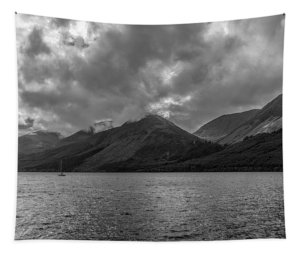 Clouds Over Loch Lochy, Scotland Tapestry