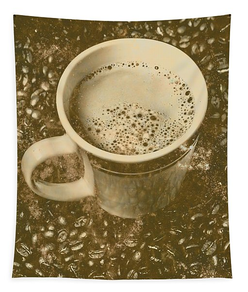 Coffee And Nostalgia Tapestry