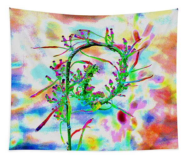 Color Curl Tapestry