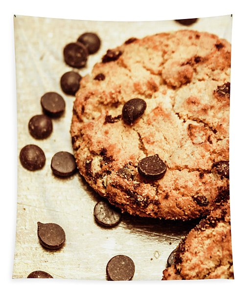 Cookies With Chocolare Chips Tapestry