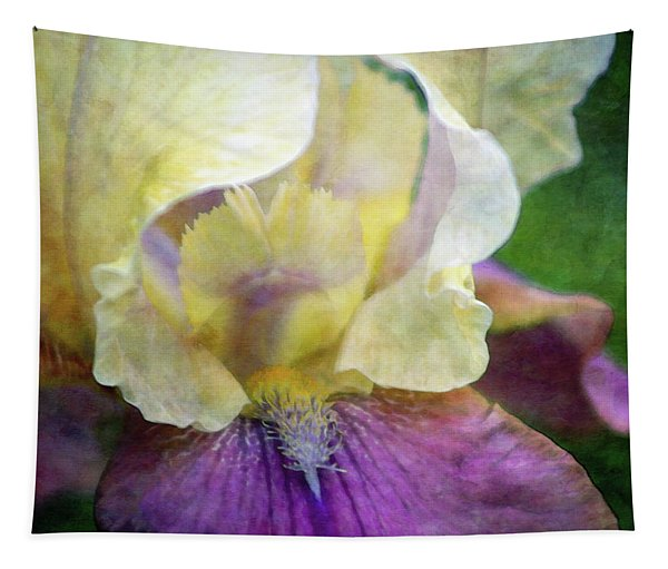 Cool Toned Purple Iris 0319 Idp_3 Tapestry