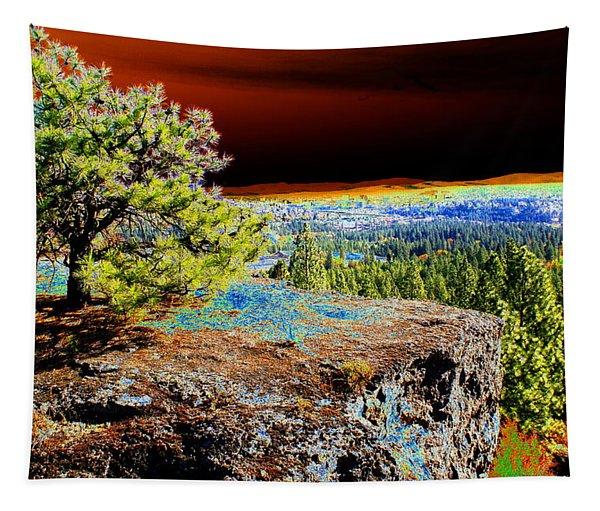 Cosmic Spokane Rimrock Tapestry