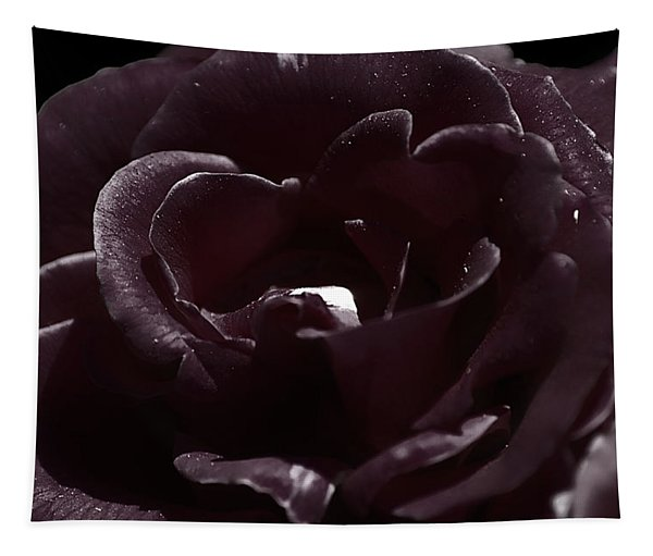 Cranberry Rose Tapestry
