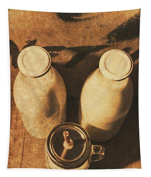 Dairy Nostalgia Tapestry