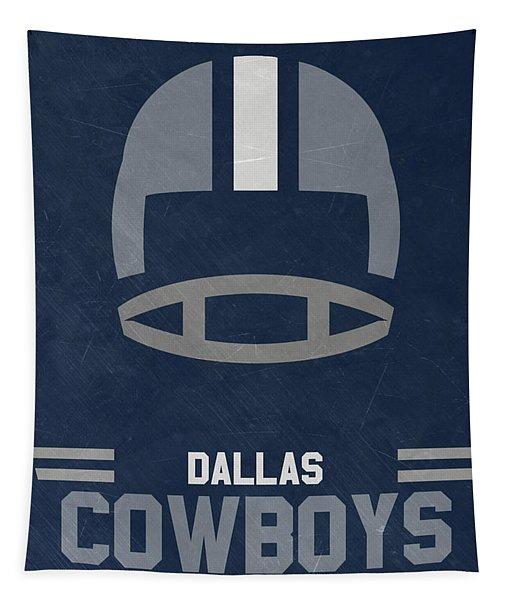 Dallas Cowboys Vintage Art Tapestry