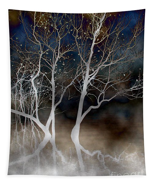 Dancing Tree Altered Tapestry