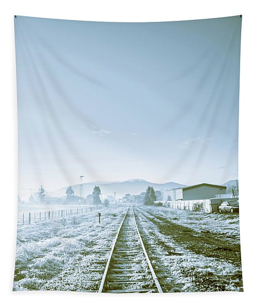 Dawn Line Tapestry