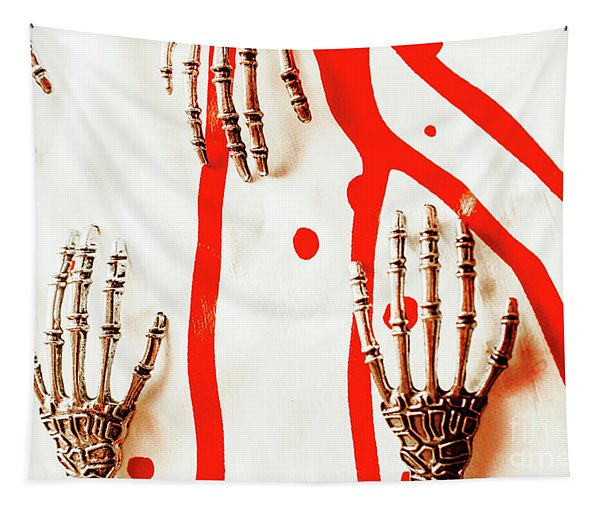 Deadly Design Tapestry