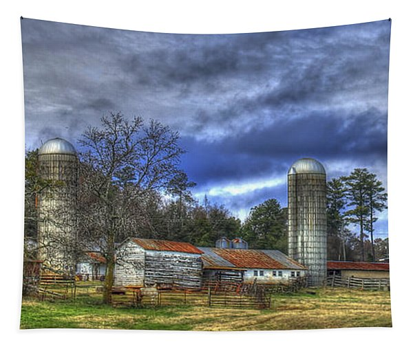 Dedication Boswell Dairy Farm Greene County Ga Art Tapestry