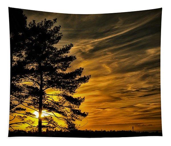 Devils Sunset Tapestry