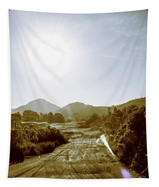 Dirt Roads Of Outback Tasmania Tapestry