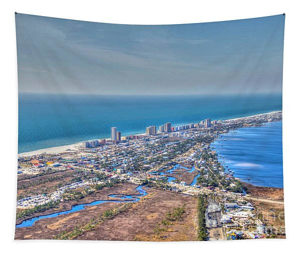 Distant Aerial View Of Gulf Shores Tapestry