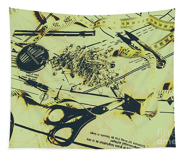 Dressmaker Desk Tapestry