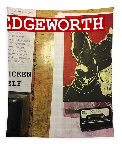 Edgeworth Chicken Shelf Cover Tapestry