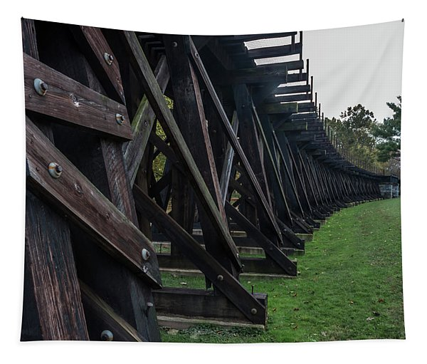 Harpers Ferry Elevated Railroad Tapestry