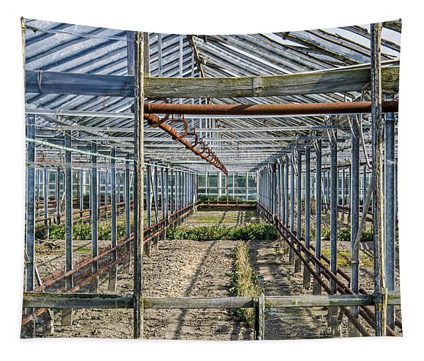 Empty Greenhouse Tapestry