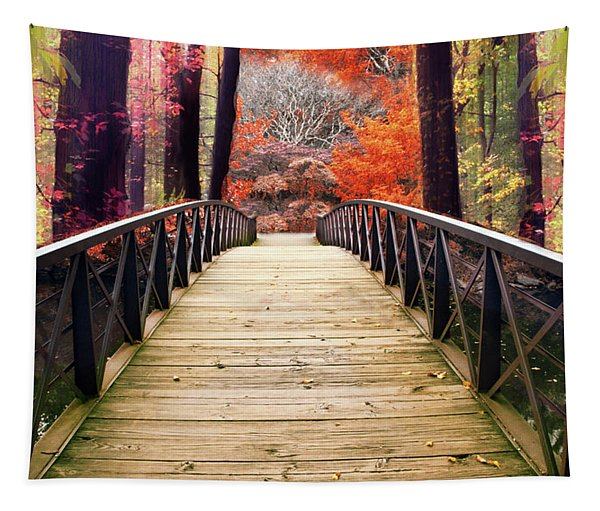 Enchanted Crossing Tapestry