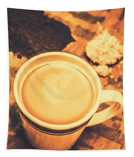 English Tea Breakfast Tapestry