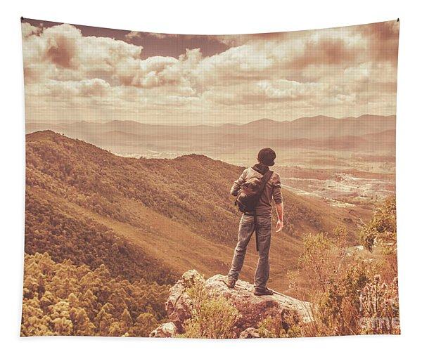 Exploring The Rugged West Coast Of Tasmania Tapestry