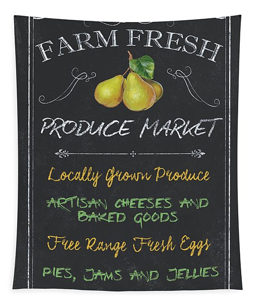 Farm Fresh Produce Tapestry
