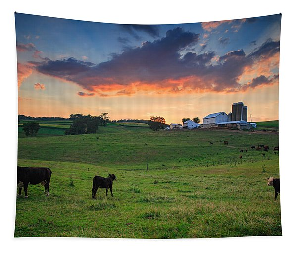 Farm Life In Beaver County Tapestry